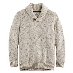 Boys 8-20 Urban Pipeline® Regular-Fit Solid Shawl-Collar Sweater