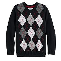Boys 8-20 Urban Pipeline® Regular-Fit Argyle V-Neck Sweater