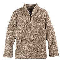 Boys 8-20 Urban Pipeline Quarter-Zip Fleece Sweater