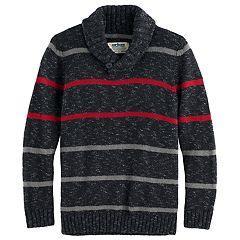 Boys 8-20 Urban Pipeline® Regular-Fit Striped Shawl-Collar Sweater