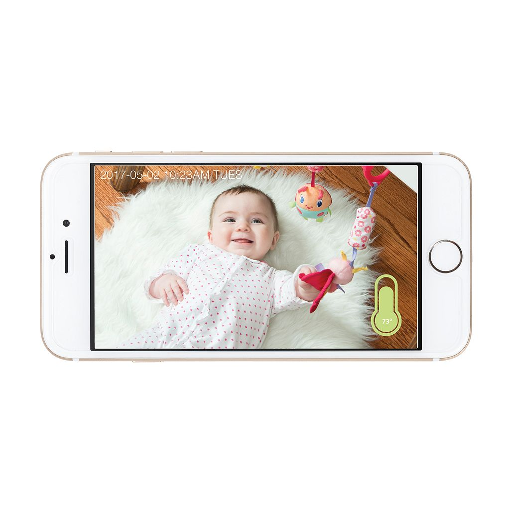 Project Nursery High-Definition Wi-Fi Baby Monitor Camera