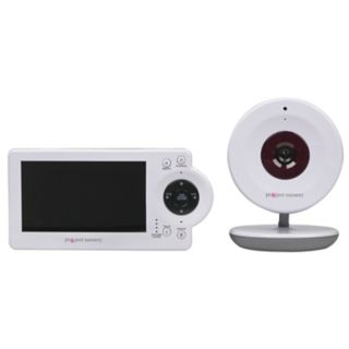 Project Nursery Video Baby Monitor System with Digital Zoom Camera