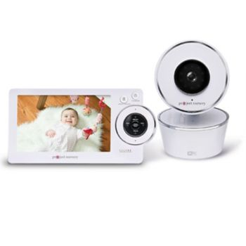 Project Nursery High-Definition Dual Connect Baby Monitor System with WiFi Viewing