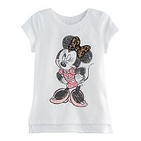 Disney's Minnie Mouse Baby Girl High-Low Hem Graphic Tee by Jumping Beans®