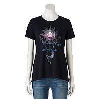 Juniors' Sun & Moon Graphic Tee