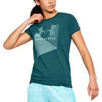 Women's Under Armour Sportstyle Logo Crew Graphic Tee
