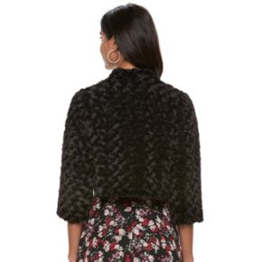 Women's ELLE™ Faux-Fur Bolero Jacket
