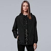 Women's Simply Vera Vera Wang 10th Anniversary Windbreaker Jacket