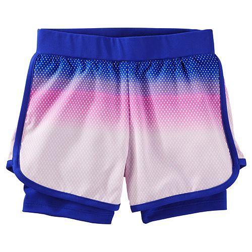 Girls 4-12 OshKosh B'gosh® Layered Active Shorts