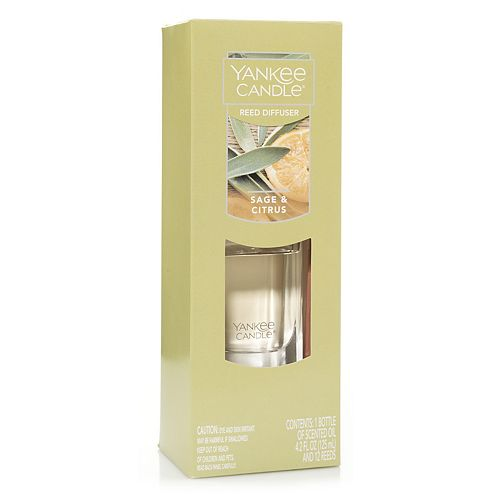 Yankee Candle Sage & Citrus Reed Diffuser 13-piece Set