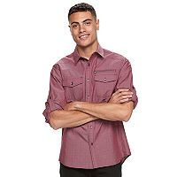 Big & Tall Rock & Republic Dobby Button-Down Shirt