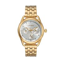 Drive From Citizen Eco-Drive Women's LTR Crystal Stainless Steel Watch - FD2052-58A
