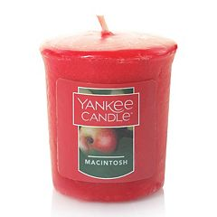Yankee Candle Samplers Macintosh Votive Candle