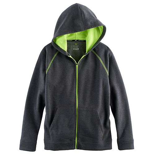 Boys 8 20 Tek GearR Ultra Soft Full Zip Fleece Hoodie