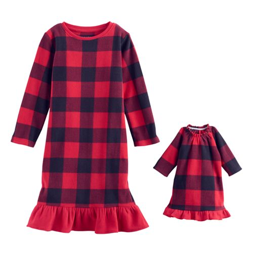 Toddler Girl Jammies For Your Families Buffalo Plaid ...