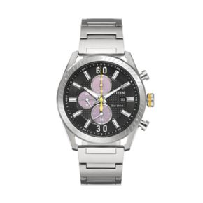 Drive From Citizen Eco-Drive Men's CTO Stainless Steel Chronograph Watch - CA0660-54E