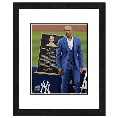 "New York Yankees Derek Jeter Double-Matted & Framed 18"" x 22"" Plaque Photo"
