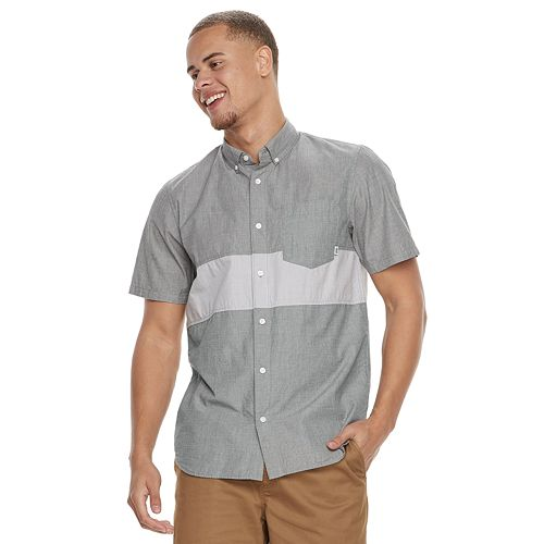 Men's Vans Bands Button-Down Shirt