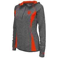Women's Campus Heritage Clemson Tigers Money Quarter-Zip Top