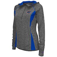 Women's Campus Heritage Florida Gators Money Quarter-Zip Top