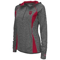 Women's Campus Heritage Indiana Hoosiers Money Quarter-Zip Top