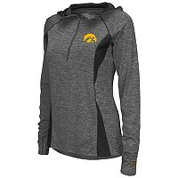 Women's Campus Heritage Iowa Hawkeyes Money Quarter-Zip Top