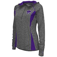 Women's Campus Heritage Kansas State Wildcats Money Quarter-Zip Top