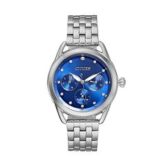 Drive From Citizen Eco-Drive Women's LTR Crystal Stainless Steel Watch - FD2050-53L
