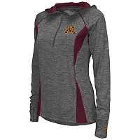 Women's Campus Heritage Minnesota Golden Gophers Money Quarter-Zip Top