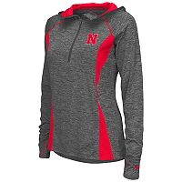 Women's Campus Heritage Nebraska Cornhuskers Money Quarter-Zip Top