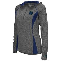 Women's Campus Heritage Notre Dame Fighting Irish Money Quarter-Zip Top