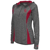 Women's Campus Heritage Oklahoma Sooners Money Quarter-Zip Top