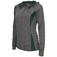 Women's Campus Heritage Oregon Ducks Money Quarter-Zip Top