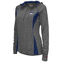 Women's Campus Heritage UConn Huskies Money Quarter-Zip Top