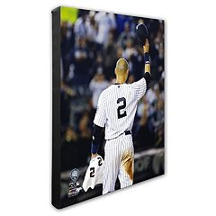 New York Yankees Derek Jeter 16' x 20' Canvas Photo