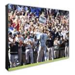 "New York Yankees Derek Jeter 16"" x 20"" Canvas Photo"