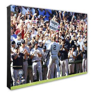 "New York Yankees Derek Jeter 16"" x 20"" Canvas Photo"