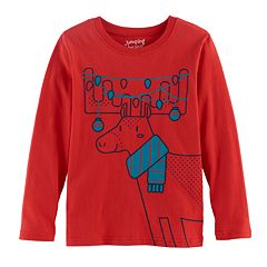 Baby Boy Jumping Beans® Christmas Softest Graphic Tee