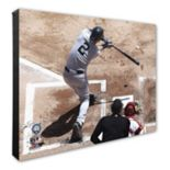 "New York Yankees Derek Jeter 16"" x 20"" Canvas Batting Photo"