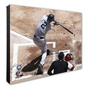 New York Yankees Derek Jeter 16' x 20' Canvas Batting Photo