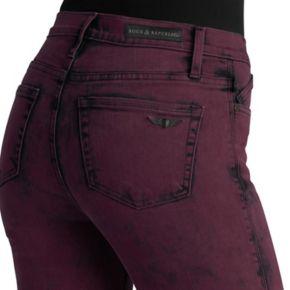 Women's Rock & Republic® Berlin Maroon Skinny Jeans