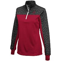 Women's Campus Heritage Alabama Crimson Tide Scaled Quarter-Zip Pullover Top