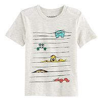 Toddler Boy Jumping Beans® Peek-a-Boo Monsters Graphic Tee