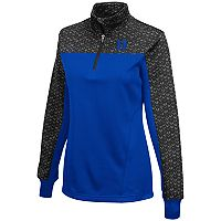 Women's Campus Heritage Duke Blue Devils Scaled Quarter-Zip Pullover Top
