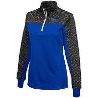 Women's Campus Heritage Kentucky Wildcats Scaled Quarter-Zip Pullover Top