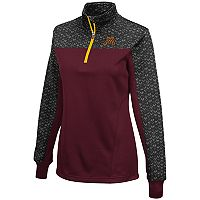 Women's Campus Heritage Minnesota Golden Gophers Scaled Quarter-Zip Pullover Top