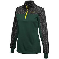 Women's Campus Heritage Oregon Ducks Scaled Quarter-Zip Pullover Top