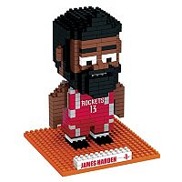 Forever Collectibles Houston Rockets James Harden BRXLZ 3D Puzzle Set