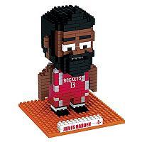 Forever Collectibles Houston Rockets James Harden BRXLZ 3D Puzzle Set