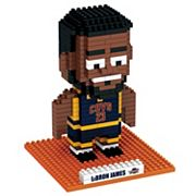 Forever Collectibles Cleveland Cavaliers LeBron James BRXLZ 3D Puzzle Set